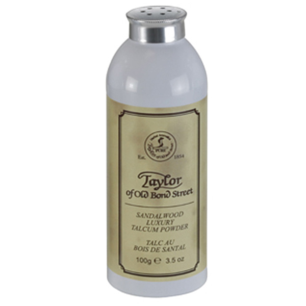 Taylor of old bond street talcum powder