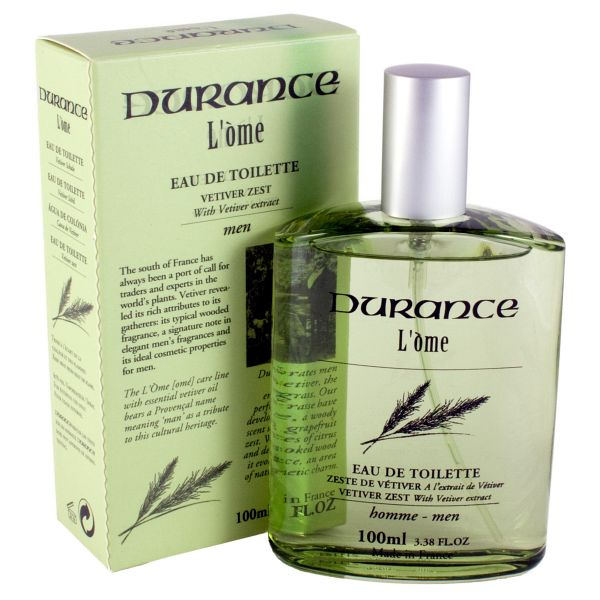 Durance L'Ome Vetiver Eau De Toilette Edt 100ml-0