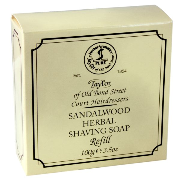 Taylor of Old Bond Street shaving shave soap refill