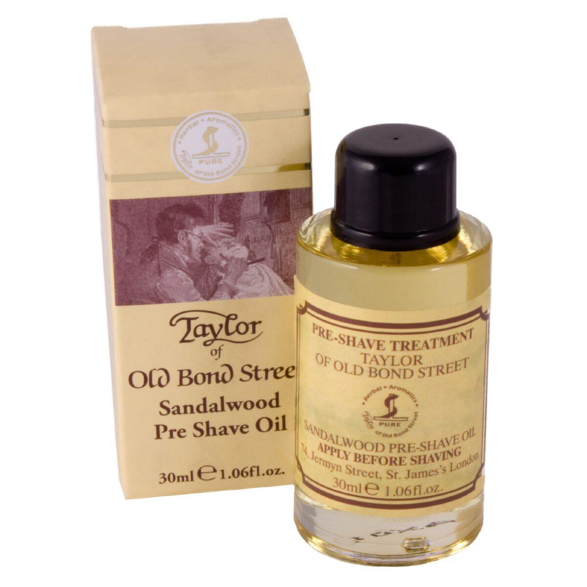 Taylor of Old Bond Street pre shave sahving oil