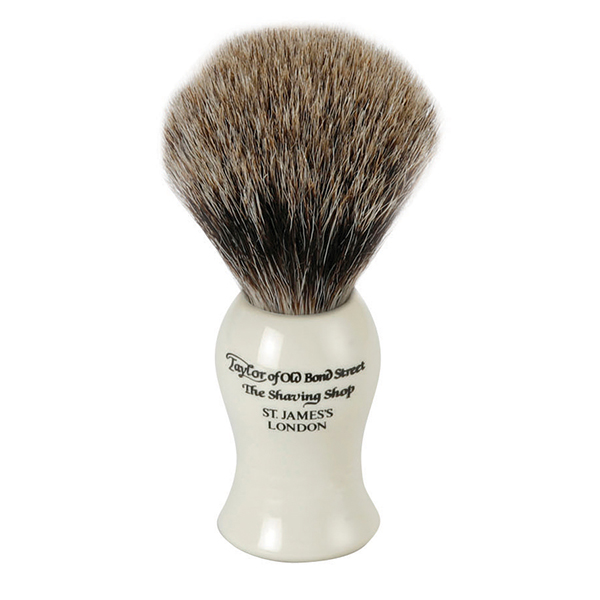 taylor of old bond street badger hair shaving brush