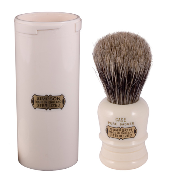 simapson pure badger hair shaving brush