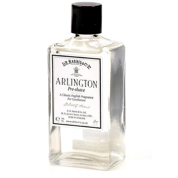 D R Harris pre shave lotion