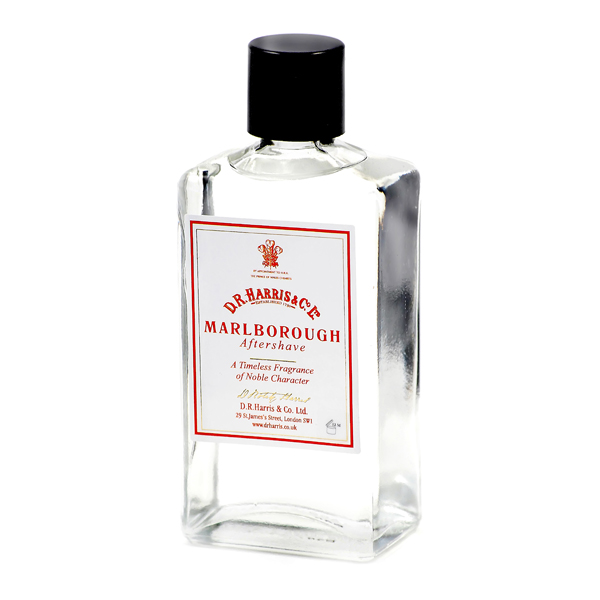 D R Harris aftershave