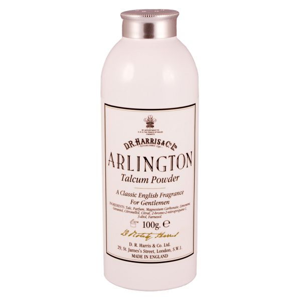 D R Harris talcum powder