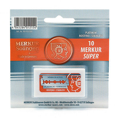 Merkur safety razor blades