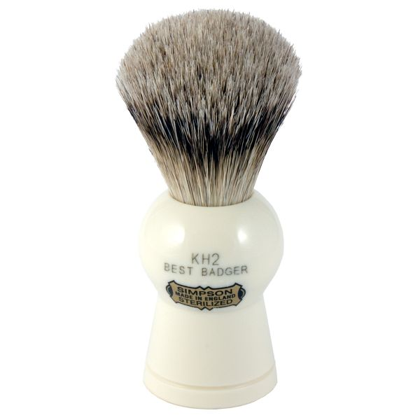 simpson badger hair shaving brush