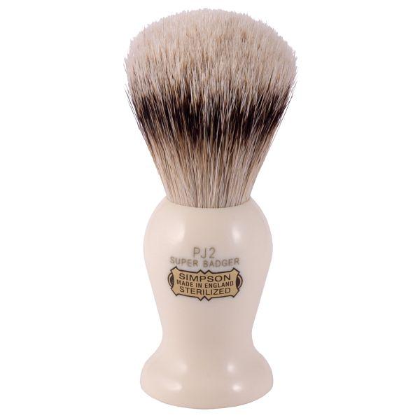 simpsons badger hair shaving brush