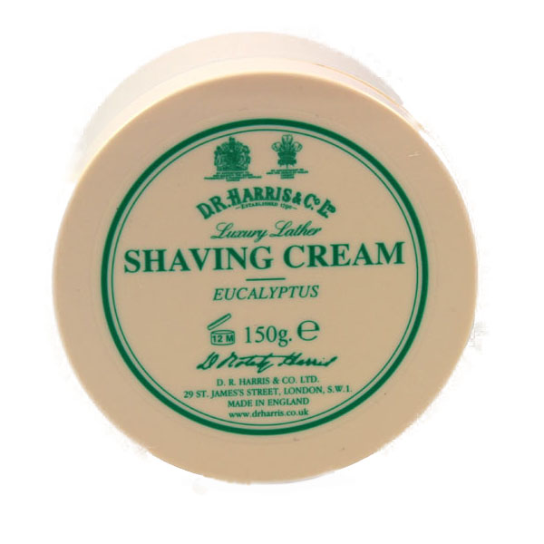 D R Harris shaving cream