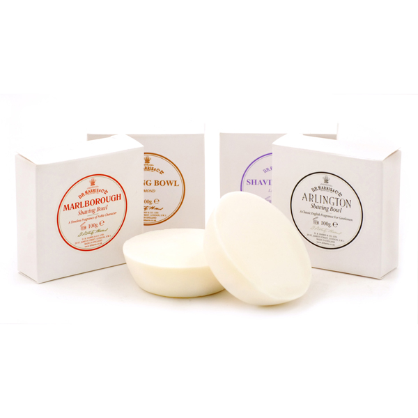 D R Harris shaving soap