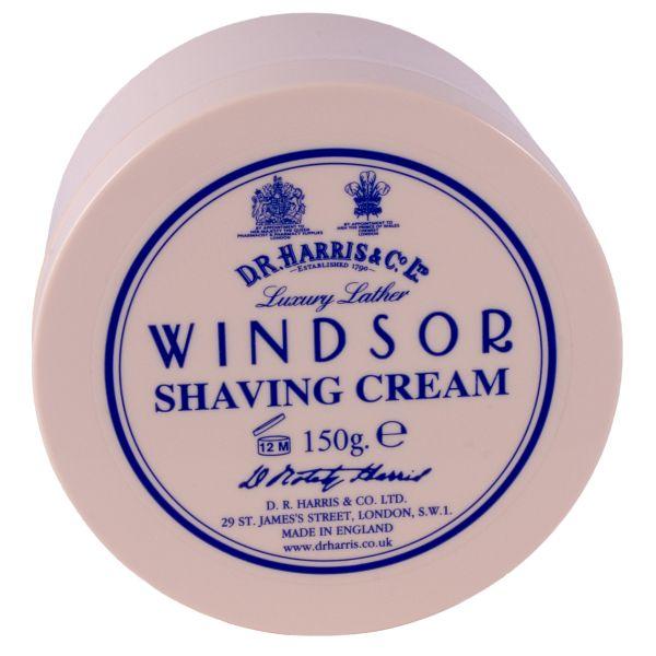 D R Harris shaving cream