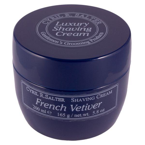 Cyril R Salter shaving cream