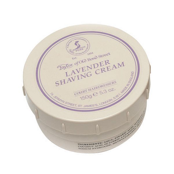Taylor Of Old Bond Street Shaving Cream Pot 150g -Lavender-0