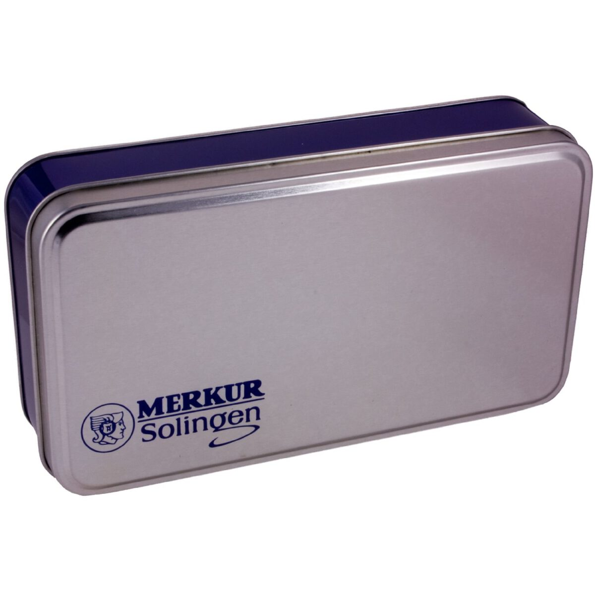 Merkur Futur Adjustable Safety Razor Gift Tin & Blades - Satin-2494