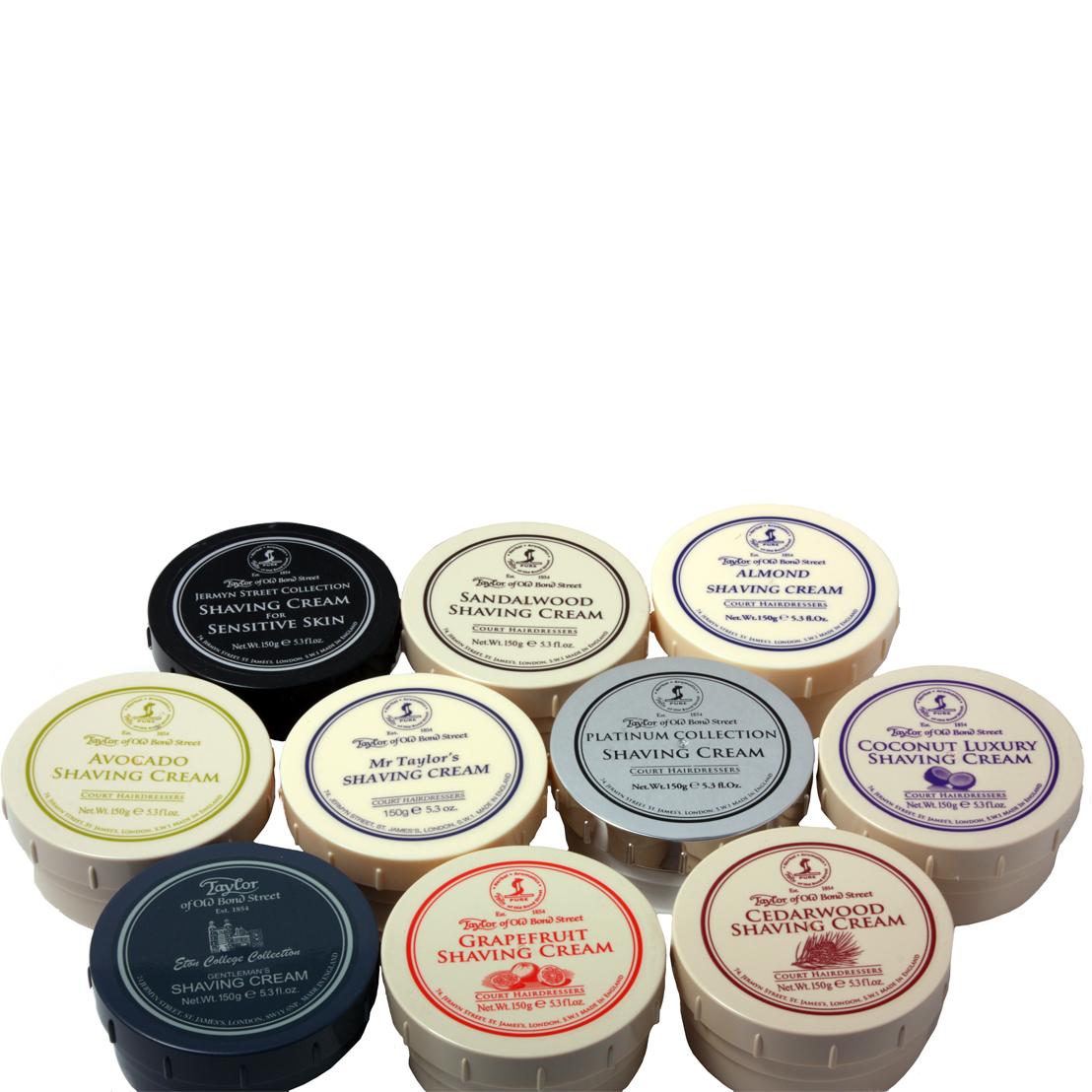 Taylor of old bond street luxury shaving cream