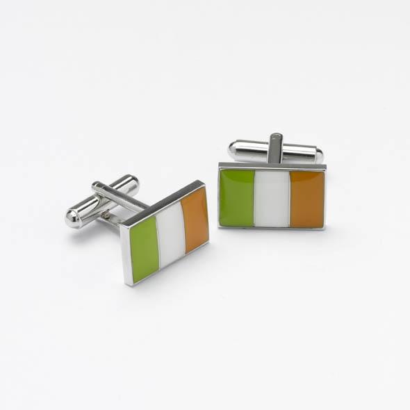 Onyx art cufflinks