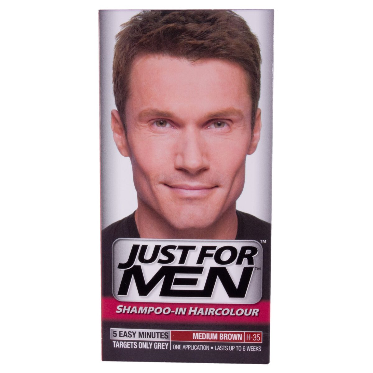 Just For Men Shampoo In Hair Colour - Medium Brown H35-0