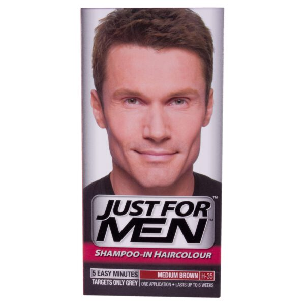 Just For Men Shampoo In Hair Colour - Medium Brown H35-0