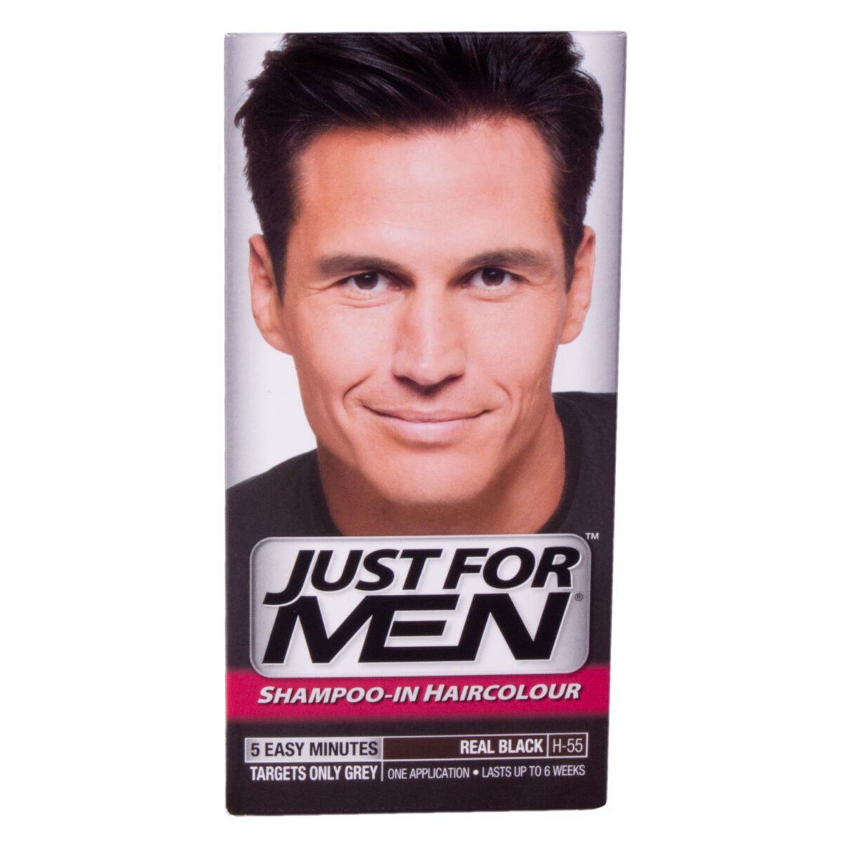 Just For Men Shampoo In Hair Colour - Real Black H55-0