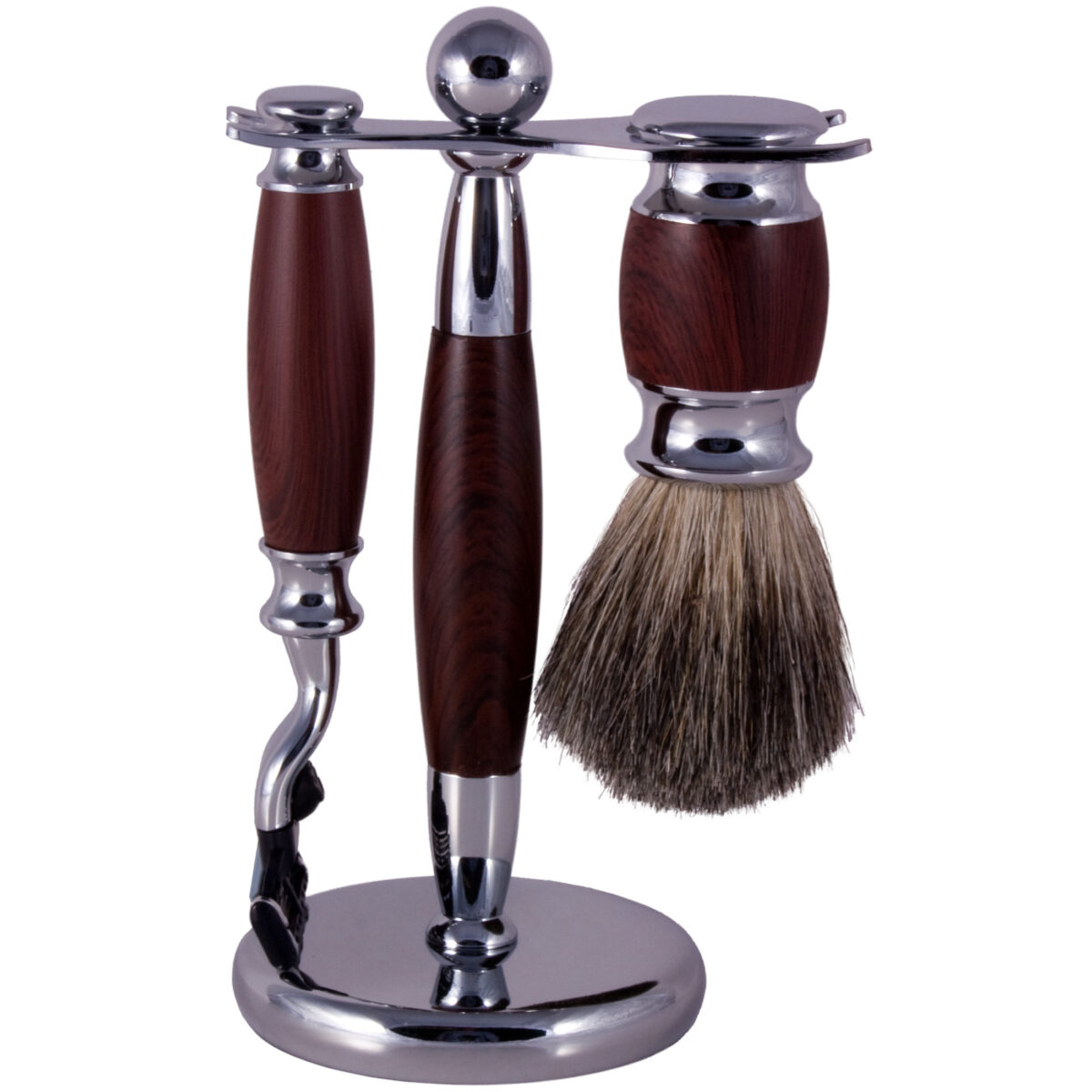 3 peice shaving set