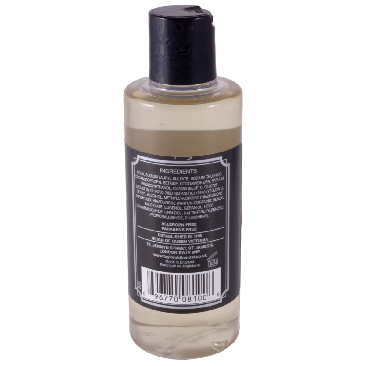 Taylor of Old Bond Street Jermyn Streeet Mens Hair and Body Shampoo 200ml-7416