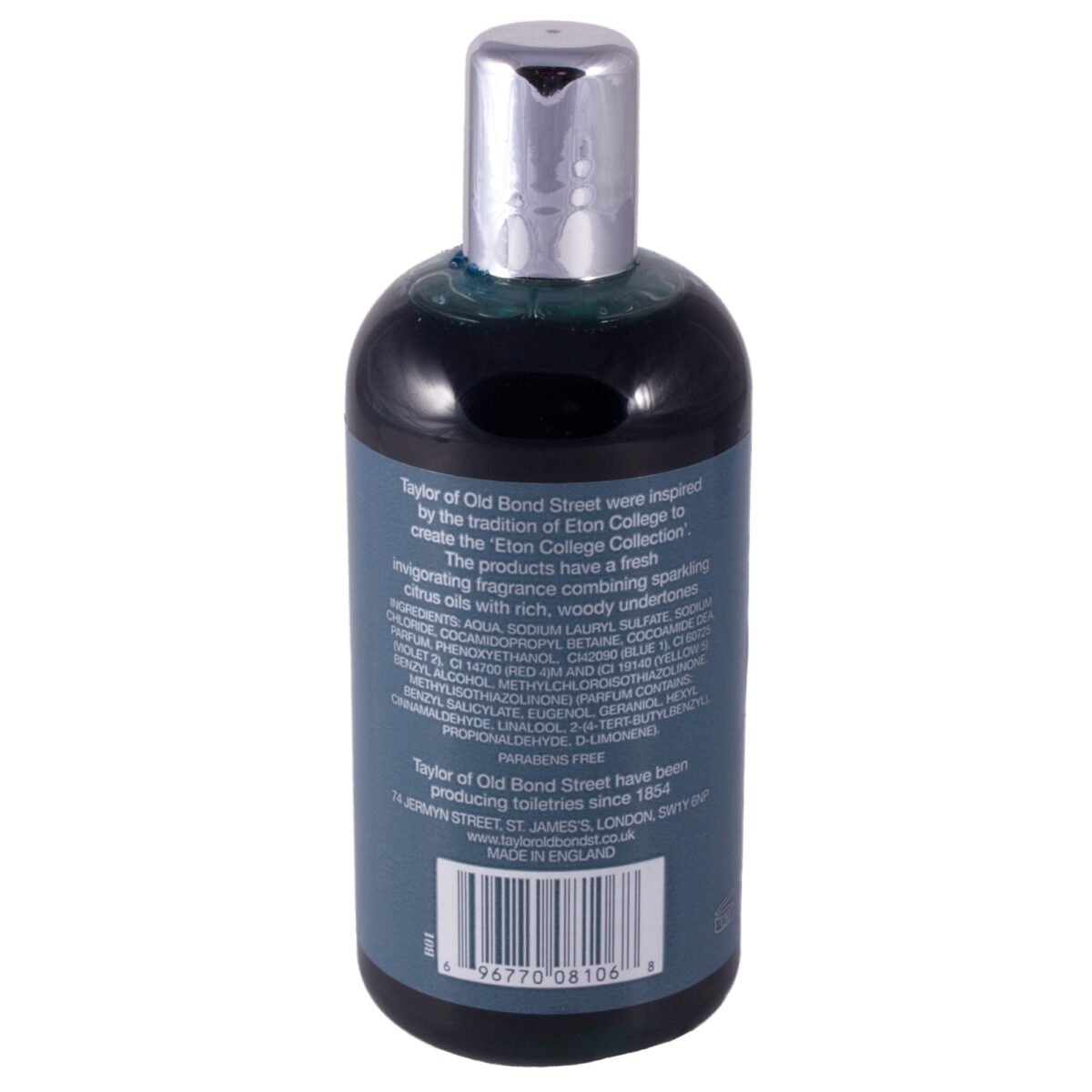 Taylor of Old Bond Street Eton College Mens Hair and Body Shampoo 200ml-7412