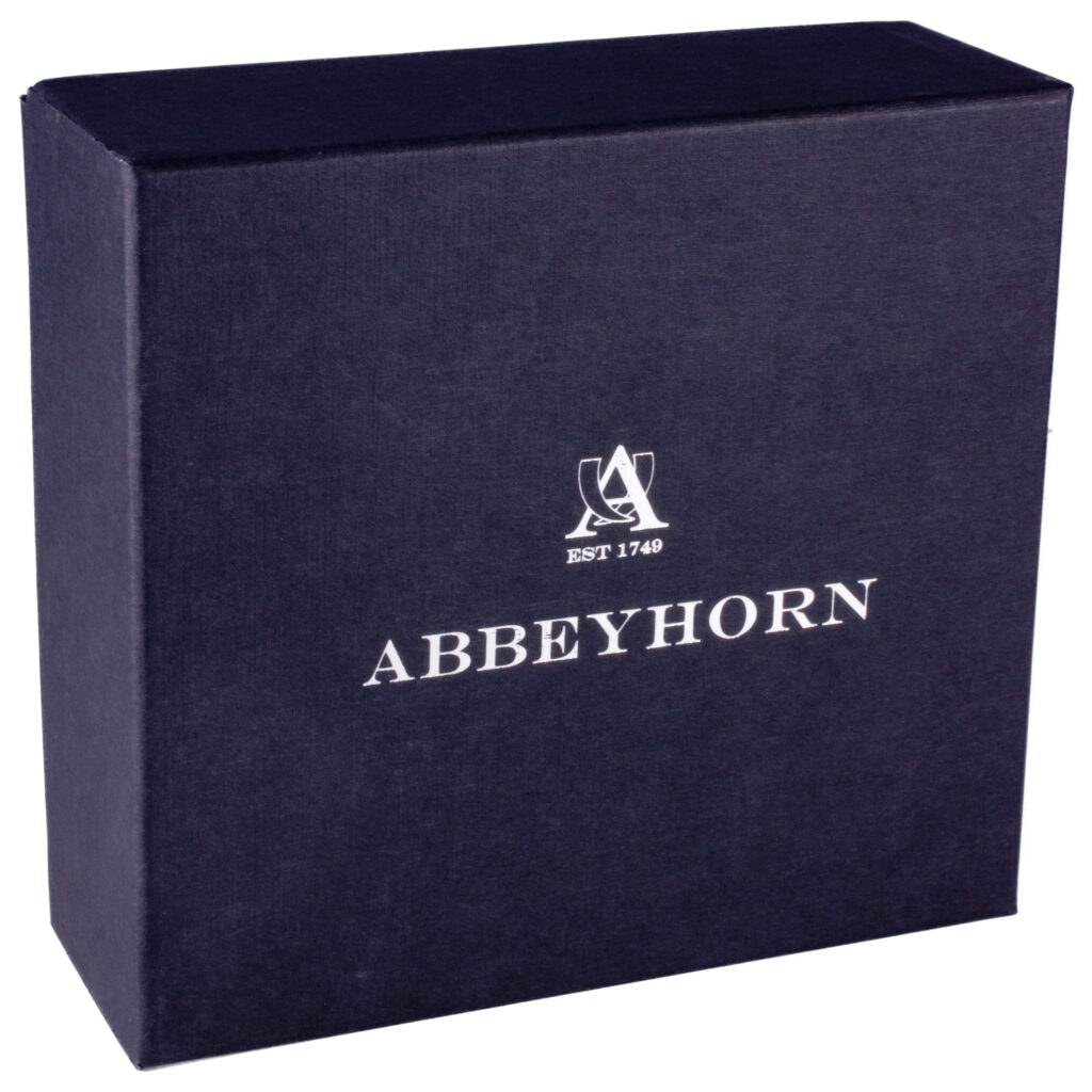 Abbeyhorn Hand Crafted Genuine Horn Small Shaving Bowl