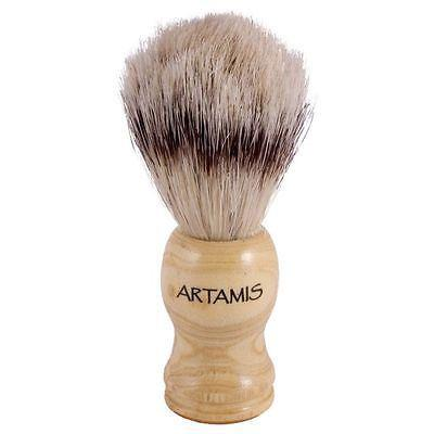 Artamis Bristle Shaving Brush Wooden Handle-0