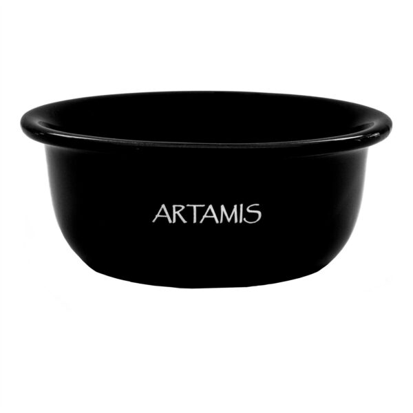 Black Ceramic Shaving Bowl