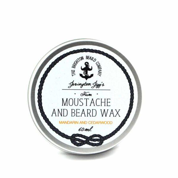 Moustache wax