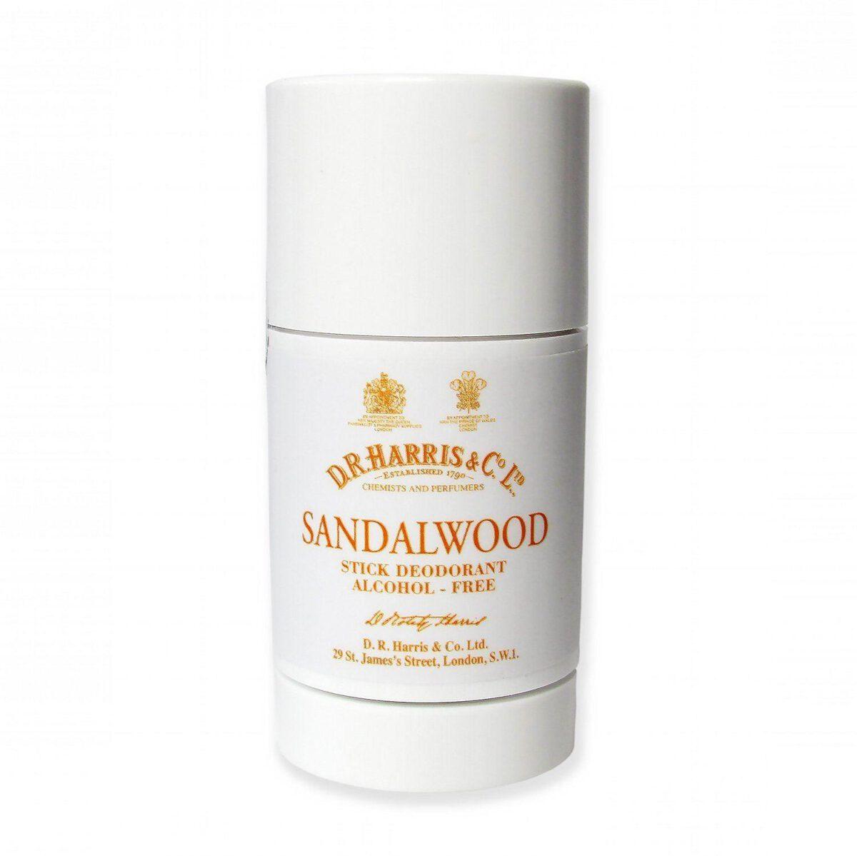 D R Harris Sandalwood Stick Deodorant 75g-0
