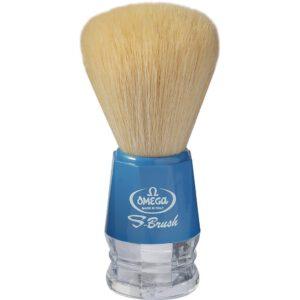 omega blue shaving brush