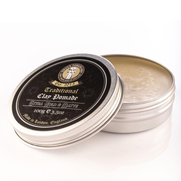 Sweyn Forkbeard Traditional Clay Pomade - 100g Extra Hold & Matte-0