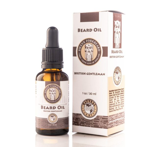 Sweyn Forkbeard Beard Oil - 30ml British Gentleman-0