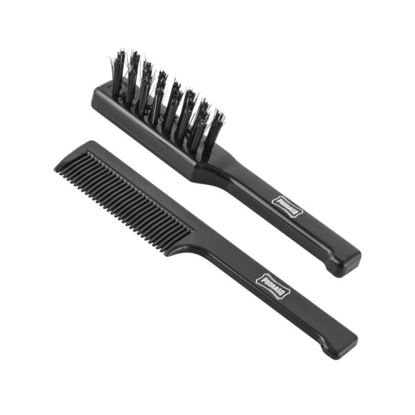 Proraso Moustache Comb & Beard Brush Set-0