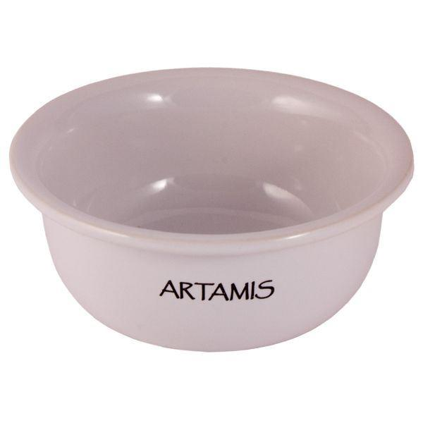 Artamis White Ceramic Shaving Bowl-0
