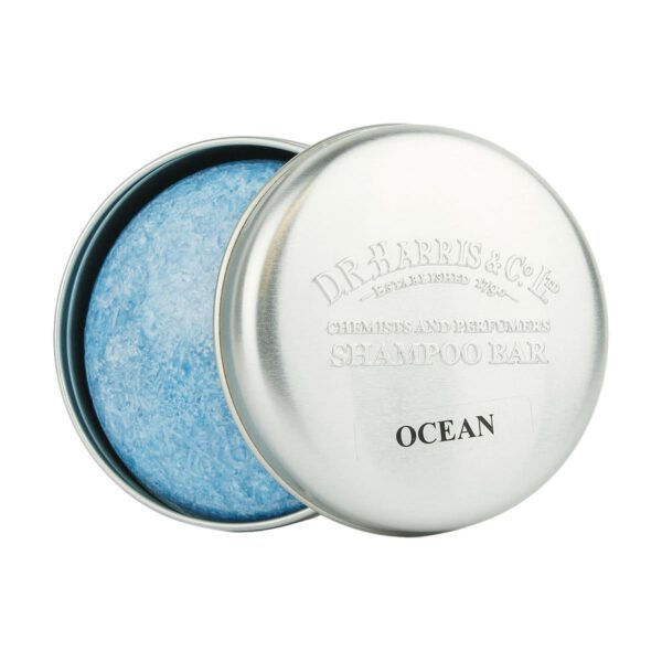 DR Harris Shampoo Bar in Tin 50g Ocean-0