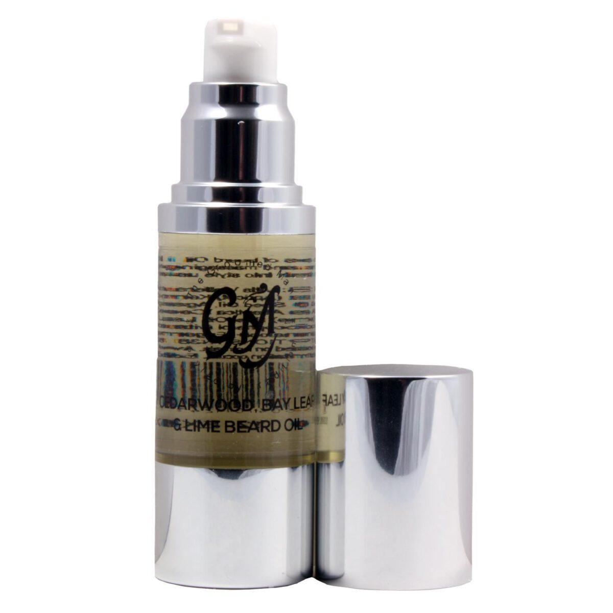 The Groomed Man Beard Oil Cedarwood Bay Leaf & Lime - 30ml-0