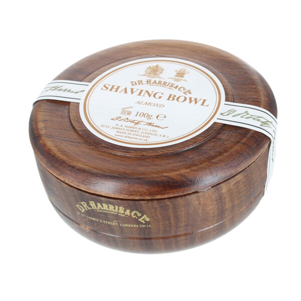 DR Harris shaving soap + bowl