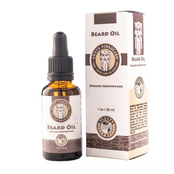 sweyn beard oil english countryside