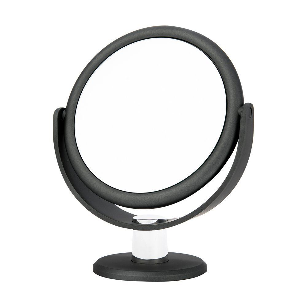 mirror 10x magnification charcoal grey