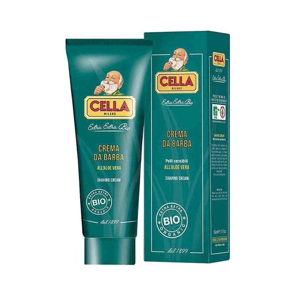 Cella organic shaving cream